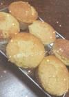 簡単レモンバターケーキ風マフィン