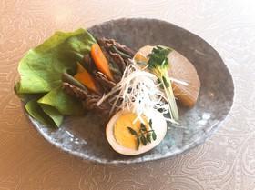 牛肉の野菜巻き煮