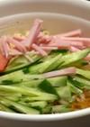 サッポロ一番醤油冷やしラーメン