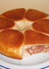 フライパンでパン コンビーフポテトパン
