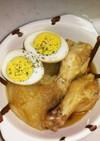 簡単☆手羽元・タマネギ・卵のうま煮