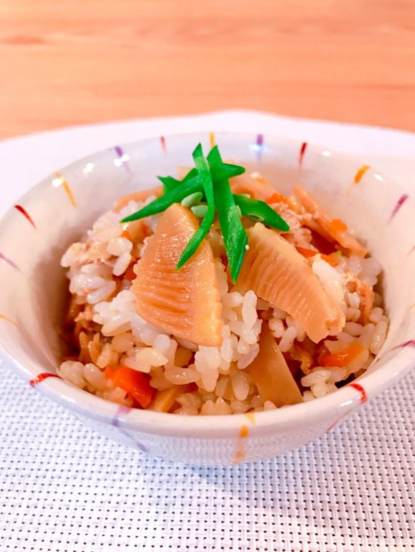 ⌘ たけのこ混ぜご飯 ⌘ 混ぜご飯の具