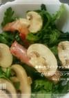 春菊&マッシュルームサラダ