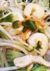簡単!えび入り豚と野菜のうま塩中華炒め