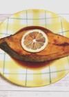 レモン醤油ソースのサーモンソテー