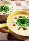 簡単レシピ☆もち麦入り中華風スープ