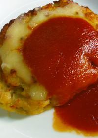 【病院】チーズハンバーグ【給食】