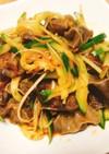 砂肝ときゅうりの冷菜