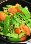毎日の納豆●パプリカ&ピーマン炒めの前菜