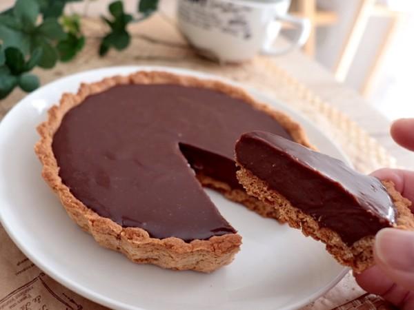 簡単!生地から生チョコタルト