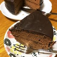 ザッハトルテ風チョコケーキ
