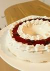 アレルギーっ子のヨーグルトムースケーキ