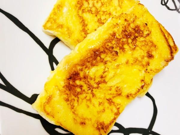 冷凍食パンで作る簡単フレンチトースト