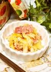 レンチン♪キャベツとベーコンの胡椒バター