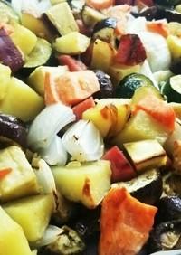 グリル野菜オーブン焼き