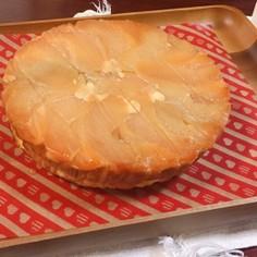 チーズのタルトタタン