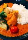 鶏と野菜のカレーライス