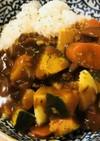 レトルト●塩ゆで温野菜たっぷりのカレー