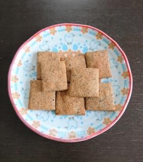 ノンオイル!米ぬかとはちみつのクッキー