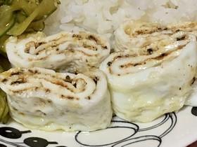 白い卵焼き
