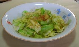 超手抜き春キャベツの温野菜