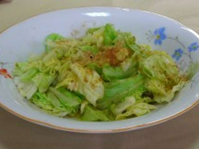 キャベツ 温野菜サラダ