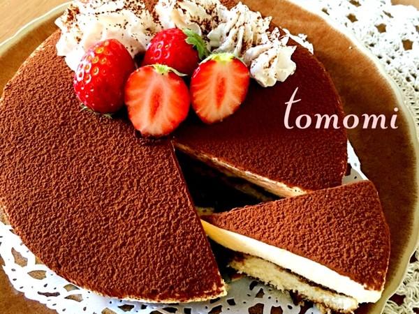 簡単♡ティラミスケーキ