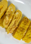 たまごサラダ(明太クリチ味)入り卵焼き