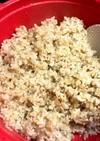 玄米(金のいぶき)の電子レンジ圧力鍋炊飯