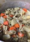 腸内フローラに優しい根菜類の煮込み