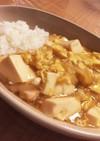 ほっこり。豆腐と卵のあんかけ丼
