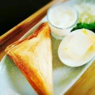 ふわふわ✩食パンホットサンド