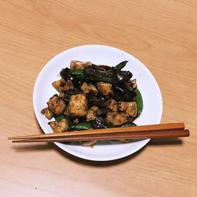 鶏胸肉の野菜炒め