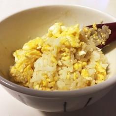 炒り卵ご飯