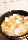 野菜たっぷり味噌汁!