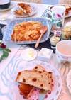 5月5日 献立 チーズダッカルビ  パン
