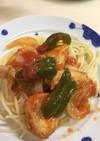 ジューシーなムネ肉のトマト煮
