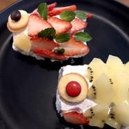 鯉のぼりロールケーキ