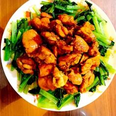 鶏のカレー風味煮