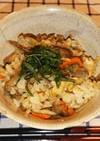 鶏肉と舞茸の炊き込みご飯~おうちで割烹~