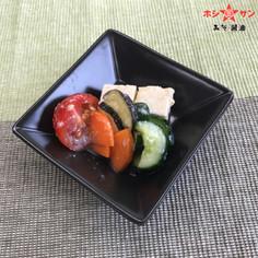 野菜と豆腐の甘酒漬け