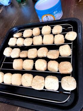 落雁粉でサクサククッキー