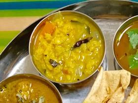 *簡単サンバル〜南インドの味噌汁〜