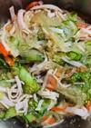 給食で食べた中華サラダ