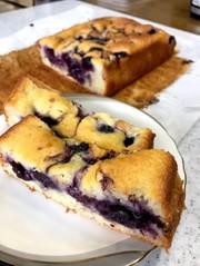 ☆ブルーベリーの生パウンドケーキ☆の写真