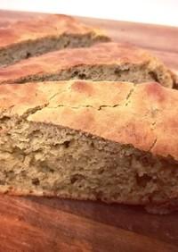 安心食材◎バナナ&ほうれん草の米粉パン!