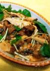 春竹の子、鰻はんぺんがんもどき卵とじ煮