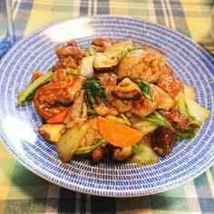 豚こまと野菜のうま煮~おうちで中華