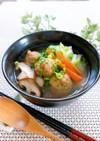 簡単★肉団子入り中華スープ