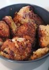 さっぱりした✨鶏もも肉の胡麻唐揚げ